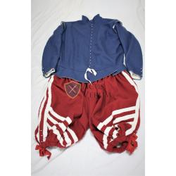 Conjunto jubón y pantalón