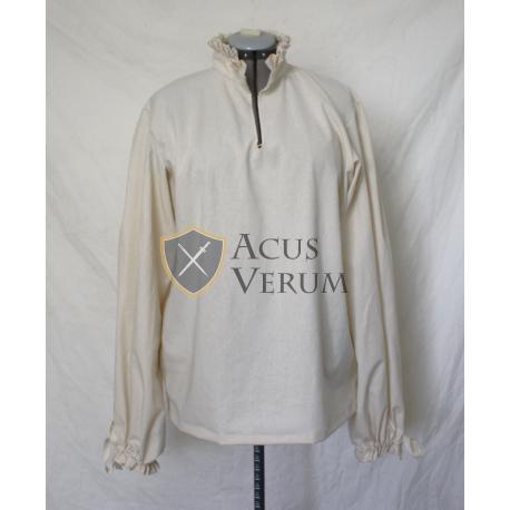 Shirt with collar of Lechuguilla