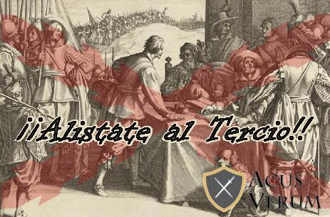 ALISTATE A LOS TERCIOS